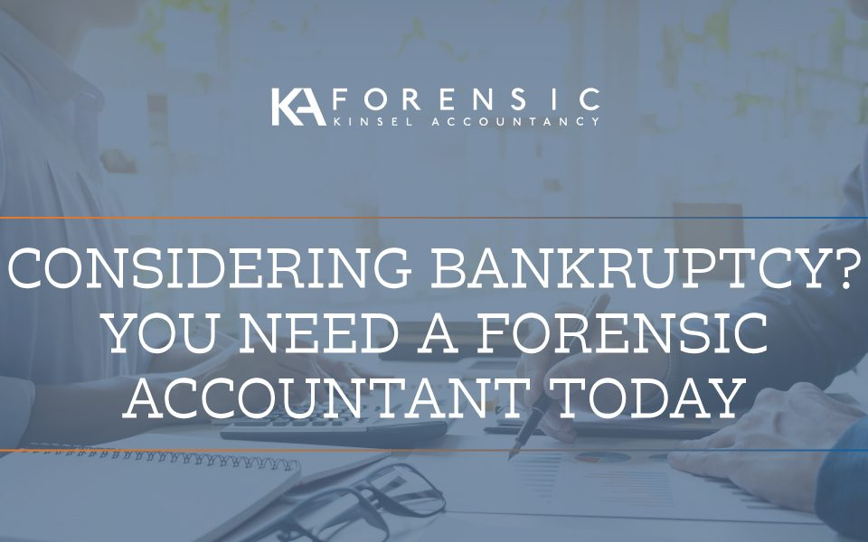 Why do you need a forensic accountant